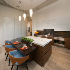 Contemporary Kitchen by Osborne Cabinets and Millwork, Inc.