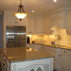 Traditional Kitchen by Rebecca Moore Design, LLC