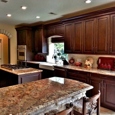 Traditional Kitchen by Kitchen Central
