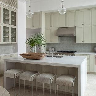 Piastrelle per il pavimento da cucina foto e idee houzz for Piastrelle paraspruzzi per cucina
