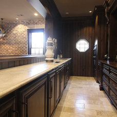 Transitional Kitchen by Infinite Home