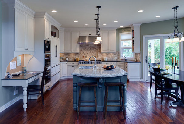 Traditional Kitchen by Gina Bon, Airoom Architects & Builders LLC