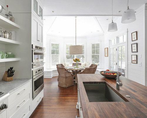 maritime k chen mit waschbecken ideen bilder. Black Bedroom Furniture Sets. Home Design Ideas