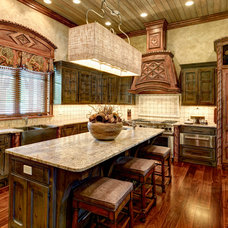 Rustic Kitchen by lisa limited