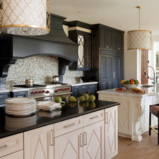 contemporary kitchen by Robin Pelissier Interior Design & Robin's Nest