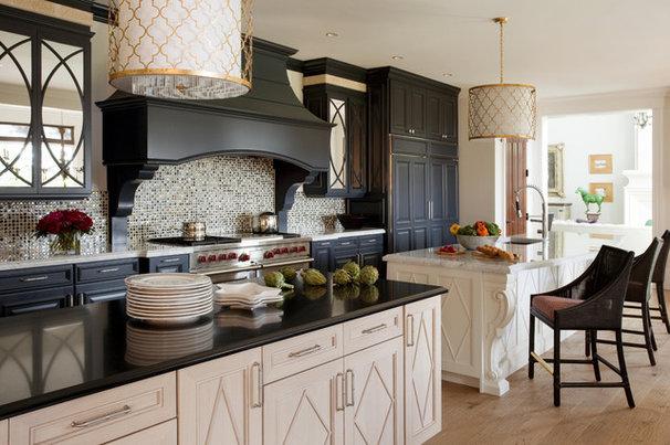 Contemporary Kitchen by Robin Pelissier Interior Design & Robin's Nest