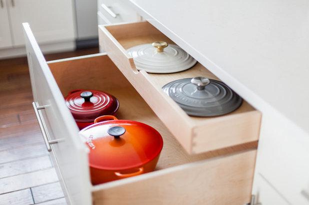 Transitional Kitchen by Sage Kitchen & Bath Design