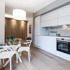 Contemporary Kitchen by NG-STUDIO Interior Design. Sanremo