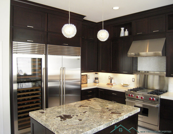 Traditional Kitchen by New Freedom Properties, LLC