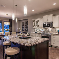 Contemporary Kitchen by Dilworth Homes