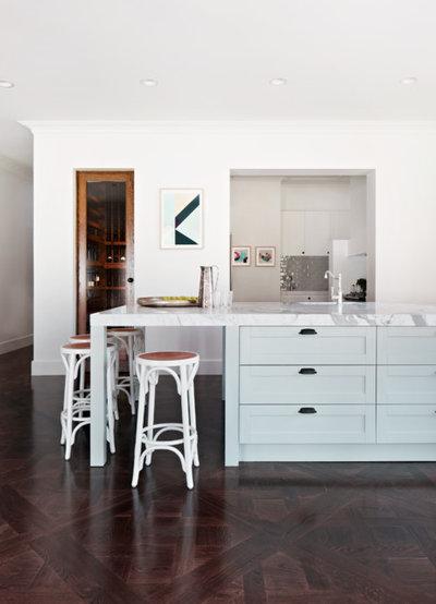 Transitional Kitchen by Bloom Interior Design