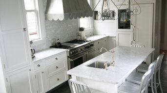 Summit Home Renovation - Marble Kitchen