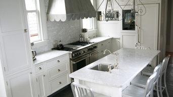 Summit Home Renovation - Marble Kitchen