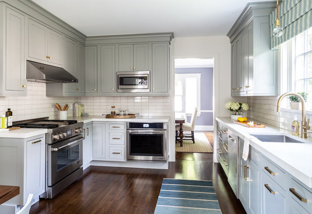 Transitional Kitchen by Edited Style