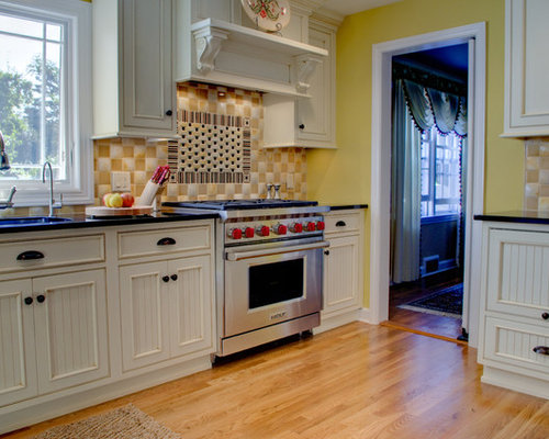 traditional with a twist kitchen