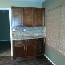 Traditional Kitchen by Tru Builders LLC