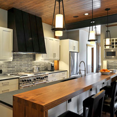 contemporary kitchen by Clinkston Architects