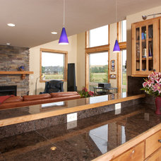 Contemporary Kitchen by Anders Lewendal Construction Inc.