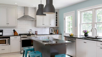 Sunny Transitional Kitchen, Valley Cottage NY