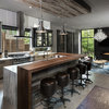 Contemporary Kitchen With an Industrial Twist