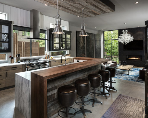 11 701 industrial kitchen design ideas remodel pictures Industrial design kitchen ideas