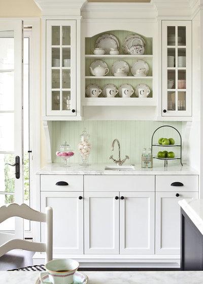 American Traditional Kitchen by Martha O'Hara Interiors