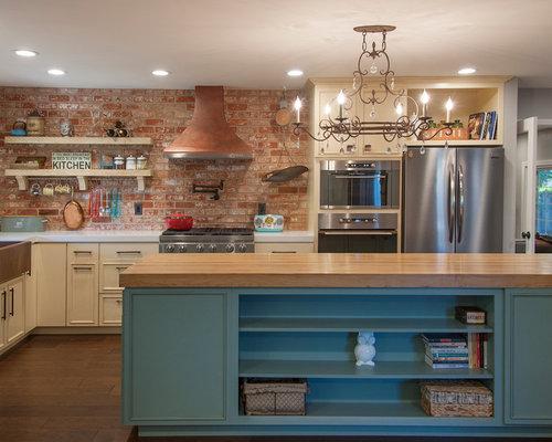 Kitchen design ideas remodel pictures with terra cotta for Terracotta kitchen ideas