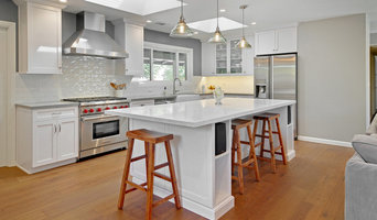 Sunnyvale Transitional White & Grey Kitchen