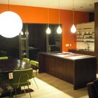 Mountain Contemporary Kitchen - Contemporary - Kitchen - Denver - by 186 Lighting Design Group ...