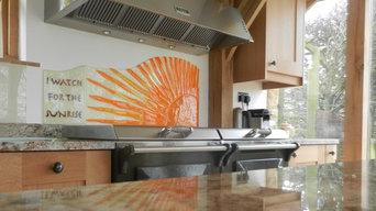 Sunrise Kitchen Splash back