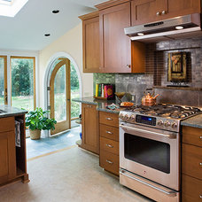 Traditional Kitchen by Fisher Group LLC