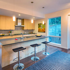 Contemporary Kitchen by Blu Homes