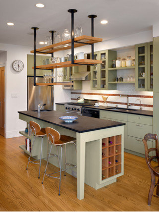 Kitchen units designs houzz for Kitchen unit design