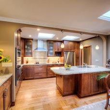 Contemporary Kitchen by Podesta Construction