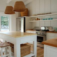 Contemporary Kitchen by Woodenbridge, Inc.
