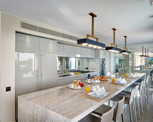 credence cuisine miroir cuisine blanche et noir peinture satin tole inox cuisine credence. Black Bedroom Furniture Sets. Home Design Ideas