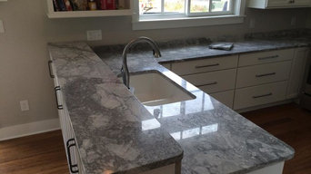 Super White Granite Install