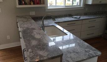 Super White Granite Install