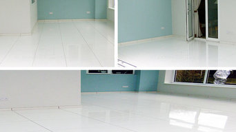 Super White Polished Porcelain Tiles