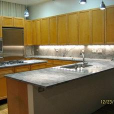 Modern Kitchen by Jersey Granite