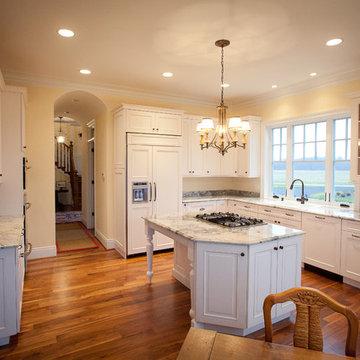 Super White Quartzite Kitchen in Calvert County, MD