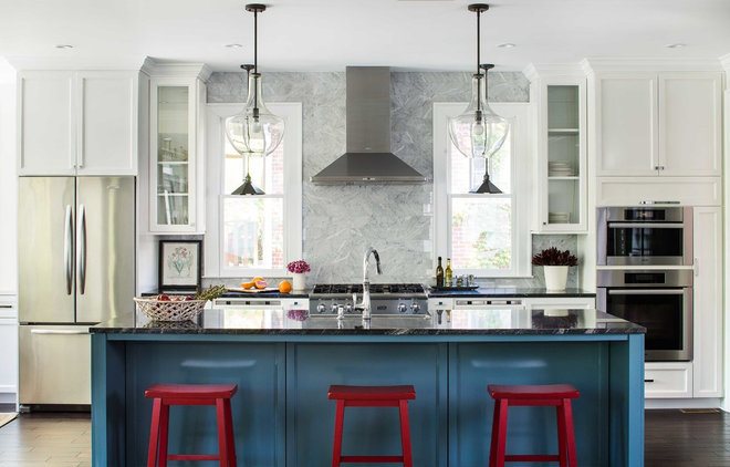 Transitional Kitchen by Terracotta Design Build