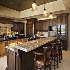 traditional kitchen by Linda Seeger Interior Design