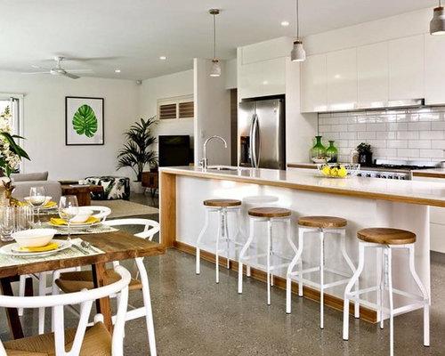 Beach style gold coast tweed kitchen design ideas for Kitchen designs gold coast