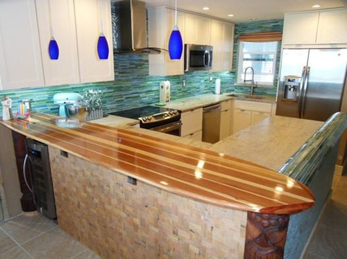 Surfboard bar home design ideas pictures remodel and decor for Surfboard bar top ideas
