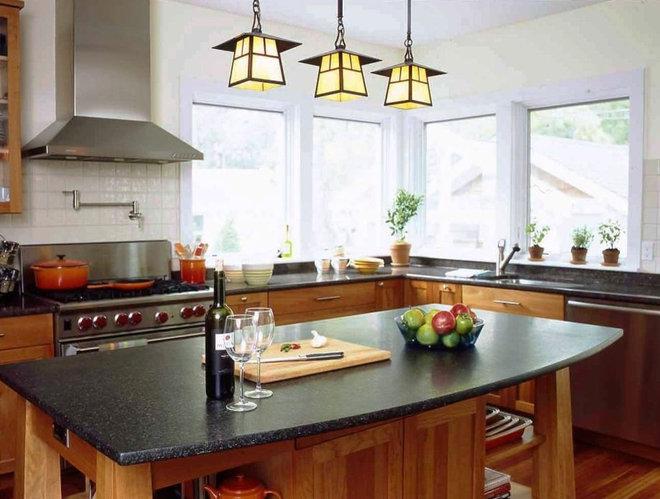 Craftsman Kitchen by Richard Bubnowski Design LLC