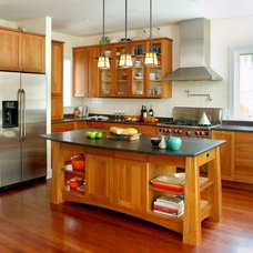 craftsman kitchen by Richard Bubnowski Design LLC