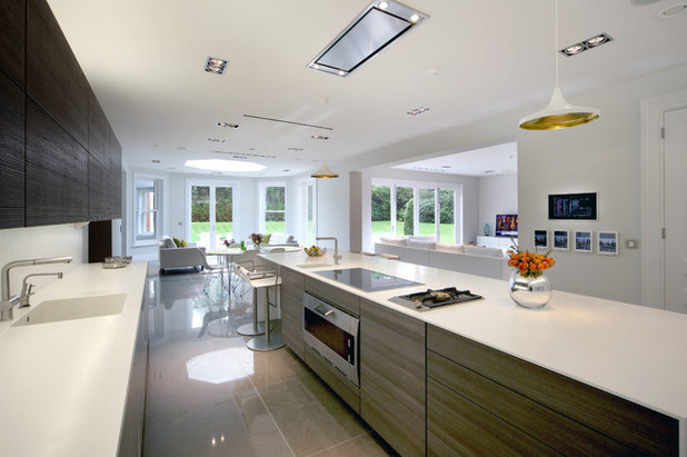 Contemporary Kitchen by Sam Coles Lighting