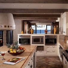 Mediterranean Kitchen by Susan Cohen Associates, Inc.