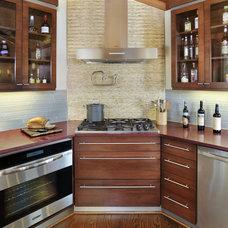 Contemporary Kitchen by Susan M. Davis